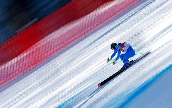 Tina Maze esqui downhill Sochi (Foto: Reuters)