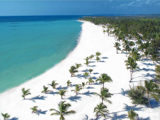 Dominican Republic...I can earn a trip to go here. all paid for. I'm going to do it and I'm so excited.  Gorgeous!
