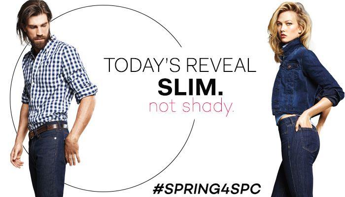Slim jeans from @joefresh
