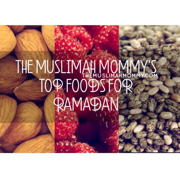 Quick  Easy Meal Ideas made from foods that keep you FULLER longer and give you more ENERGY! #Ramadan #Islam #Muslima #/Muslimah