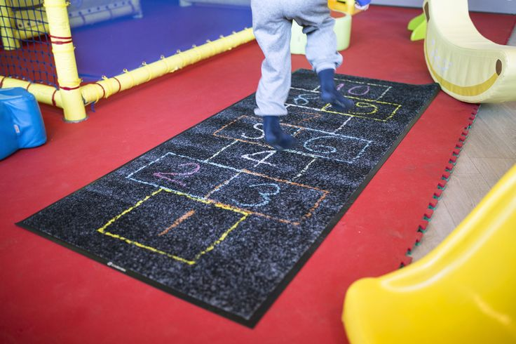 High-quality interior decoration may require a finishing touch. A plain room can be brought to life with Lindström Group's individual design mats. #lindstromgroup #matservices #mat #designmat #interiordesign #carpet #companyimage #brandimage #matrentalservice #rental #customerspecificdesignmat #image #kids #playarea