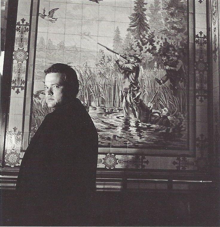 Робер Дуано 1949. Орсон Уэллс. Париж 10-й округ