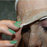 Un excellent masque contre l'acné, les rougeurs et les points noirs