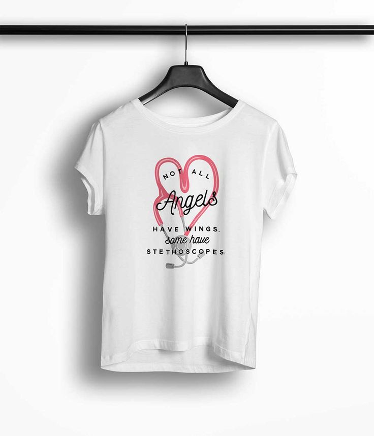 Tricou Femei Personalizat Not All Angels Have Wings Some Have Stethoscopes