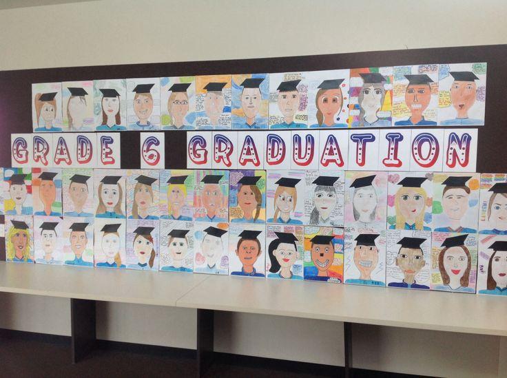 Grade 6 Graduation Display