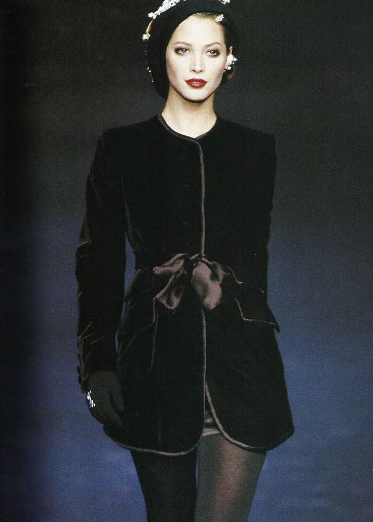 Christy Turlington for Sonia Rykiel FW 1994 #vintage #90s #thesupers