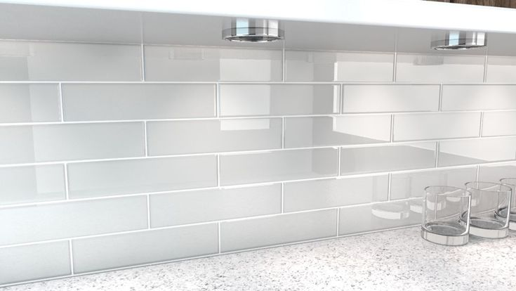 We may earn commission on some of the items you choose to. City Gray Glass Tile. Perfect for kitchens and bathrooms. | Home & Garden, Home Impr… | Glass
