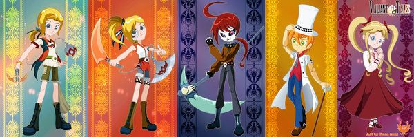 5 Main Characters by Vallylight.deviantart.com on @DeviantArt