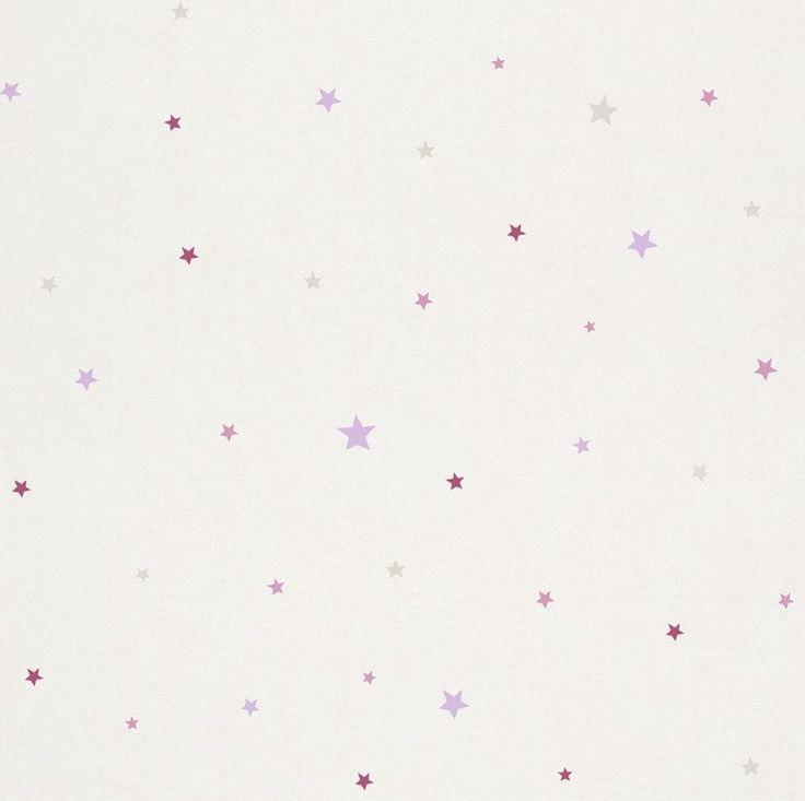 Tapet copii stele roz 245202 Rasch