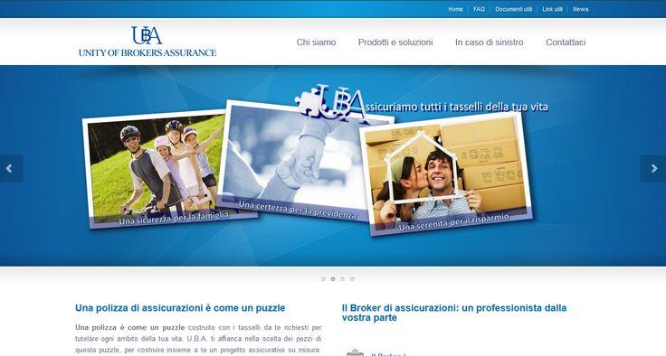 Sito web U.B.A. srl: #webdesign, #sitiweb, #grafica, #sitinternet, #padova,