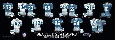 Seattle Seahawks Uniforms