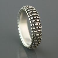 Nobby Dirt Bike Tire Ring! Umm yes please!!!!!!!!!!