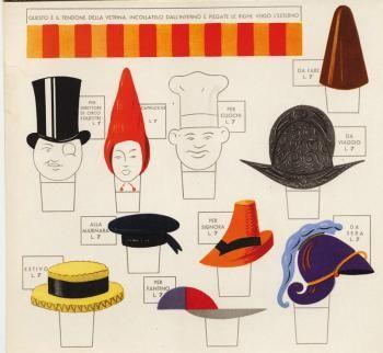Collezione - Munari Bruno Munari illustrator Capelli