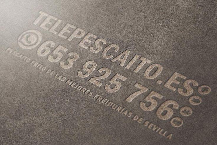 Tan cómodo como enviar un #WhatsApp con lo que quieres y tu dirección http://www.telepescaito.es #Sevilla