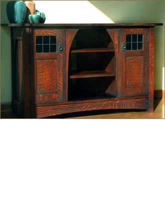 Caledonia Studios Craftsman Media Cabinet