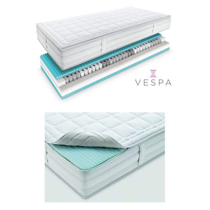 Die Superba Excelsior Matratze kombiniert einen innovativen Taschenfederkern mit einer atmungsaktiven Auflage aus Gomtex blue. Die hochwertigen Naturpolstermaterialien komplettieren die Matratze und verschaffen ihr ein fedrig-frisches Liegegefühl.