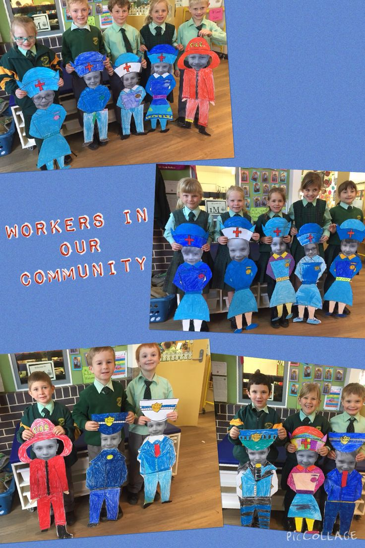 H.S.I.E - Workers in our Community art