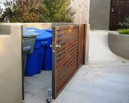 Image result for hiding garbage bins