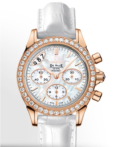 OMEGA: De Ville Co-Axial Ladies Chronograph