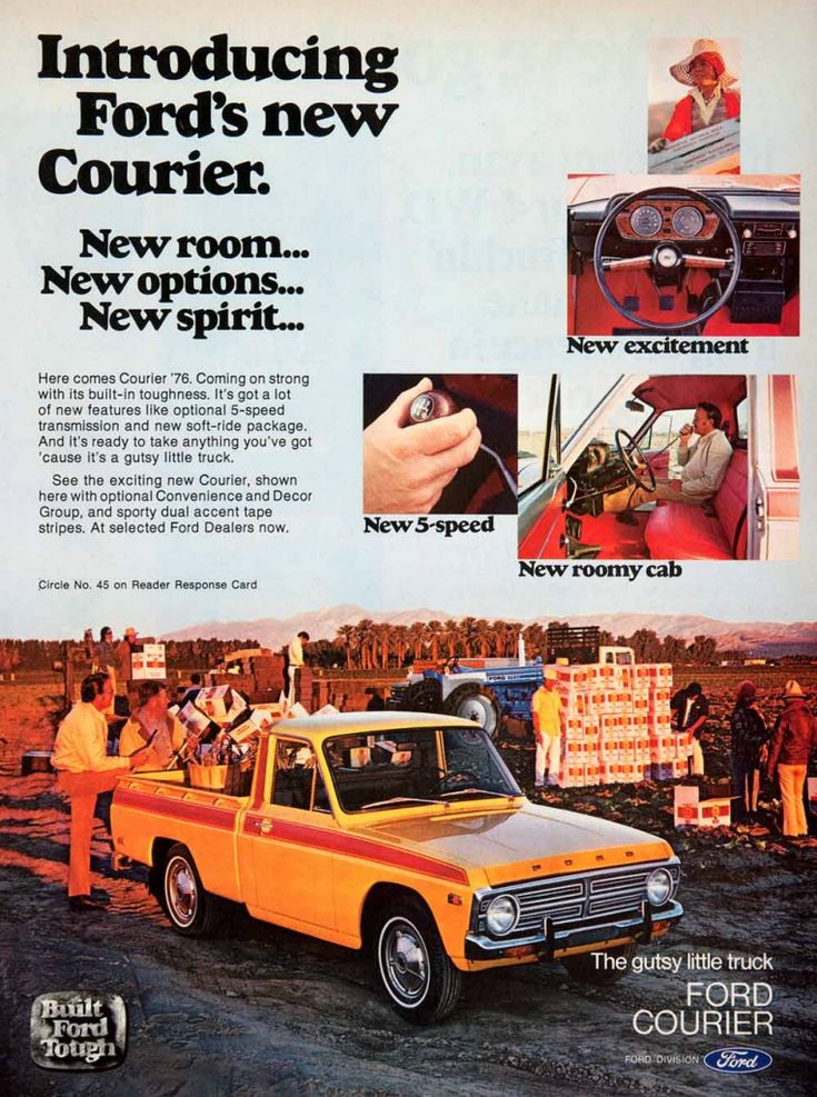 1976 Ford Courier Ad