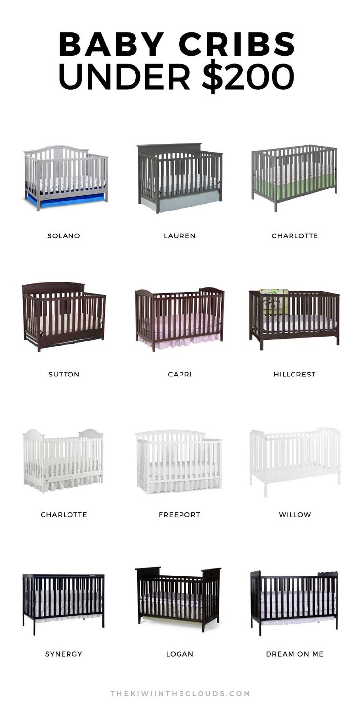 Crib size quilts for sale - 12 Cheap Baby Cribs That Are Actually Insanely Stylish