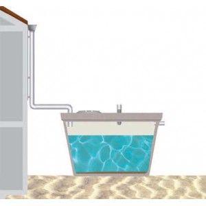 Deposito Recogida Aguas Pluviales 1.000 Litros