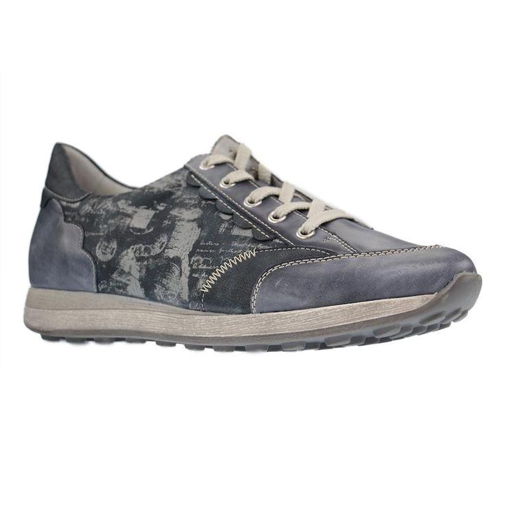 REMONTE - D1808 - große Damen Sneaker - Blau XXL Schuhe Übergrössen Größen 42, 44. Hier entdecken und shoppen: https://www.schuhxl.de/damenschuhe/sneaker/remonte-damenschuhe-sneaker-blau-schuhe-in-uebergroessen/a-11412/
