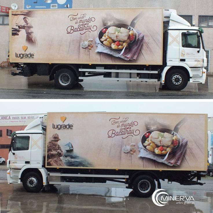 Decoração do camião da Real Casa Portuguesa GMBH.