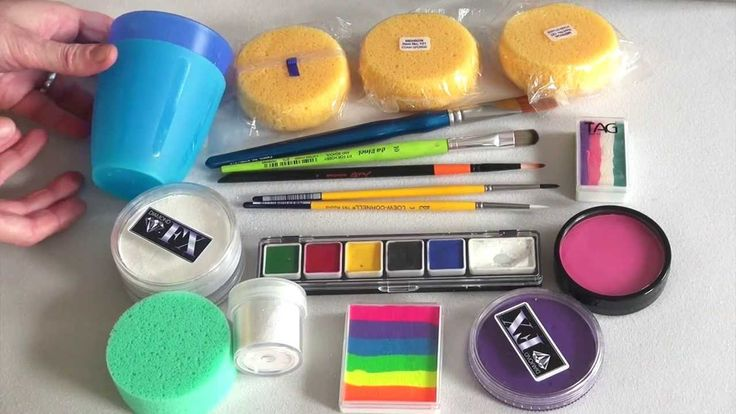 25 best ideas about face painting supplies on pinterest for Face paints supplies