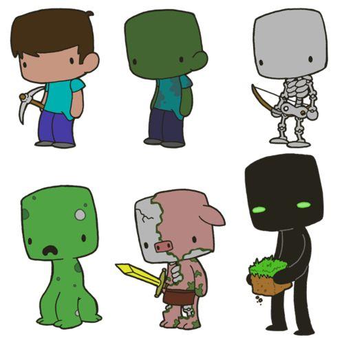 Minecraft In Cartoon version