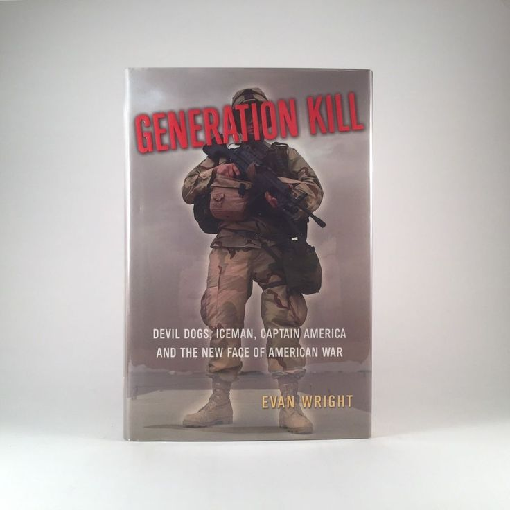 FIRST EDITION Generation Kill by Evan Wright HBO Series HCDJ 1st Printing 2004 | Books, Nonfiction | eBay!
