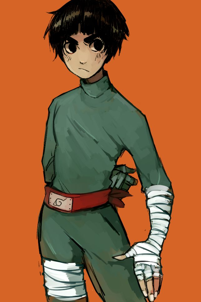 AKA Rock Lee  Little speed paint I did of a sketch I had today before working on commissions *U* Reblog from here! : steamedbunnies.tumblr.com/post… time taken:1~ hr program: paint...