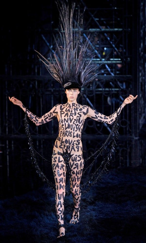 Marc Jacobs debuts Louis Vuitton's Spring Summer 2014 collection at Paris Fashion Week