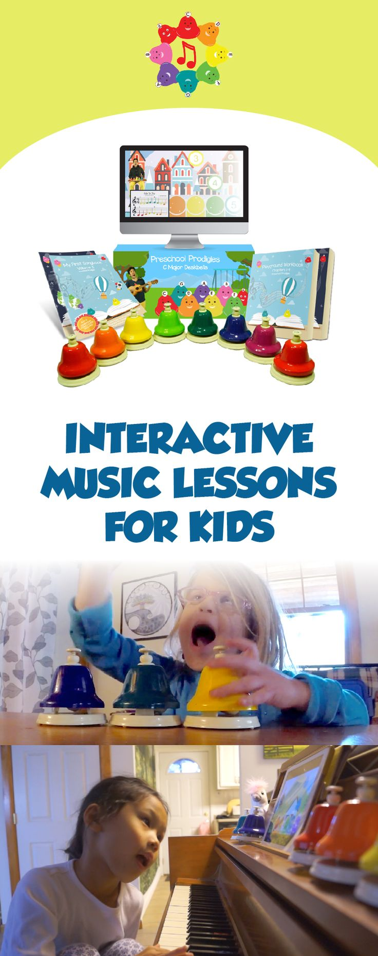 "Interactive Music Lessons for Kids Now Featuring Primary School Lessons and Songs!  Free Starter Program & ""Raising a Young Musician"" eBook"