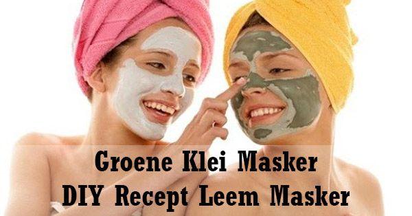 Zelf een Groen Klei Masker / Leem gezichtsmasker maken? Volg dit leuke DIY recept zelfgemaakte groene klei masker van 100% natuurlijke ingrediënten.