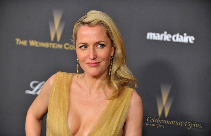 Gillian Anderson 2016 Weinstein Company and Netflix Golden Globes afterparty- January 10, 2016