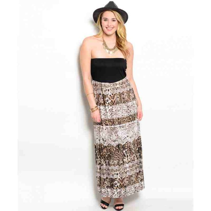 PRE-ORDER - BLACK BROWN IVORY PLUS SIZE DRESS $52.00 http://www.curvyclothing.com.au/index.php?route=product/product&path=95_101&product_id=8704&limit=100