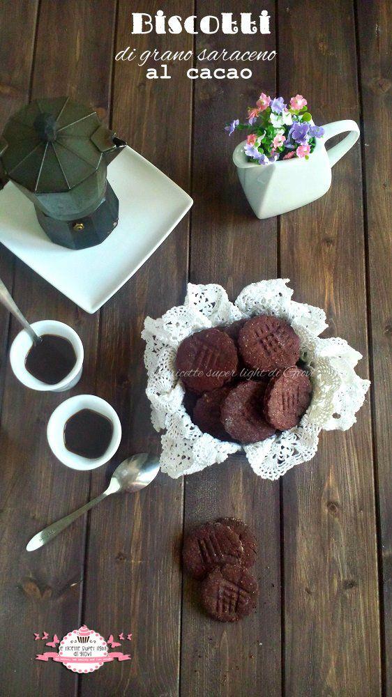 Biscotti di grano saraceno al cacao, semplici e veloci, senza latte, senza uova e senza glutine!