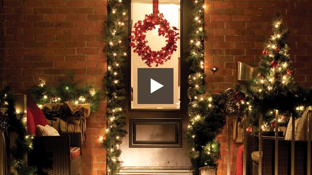 Watch: Create A Festive Front Porch