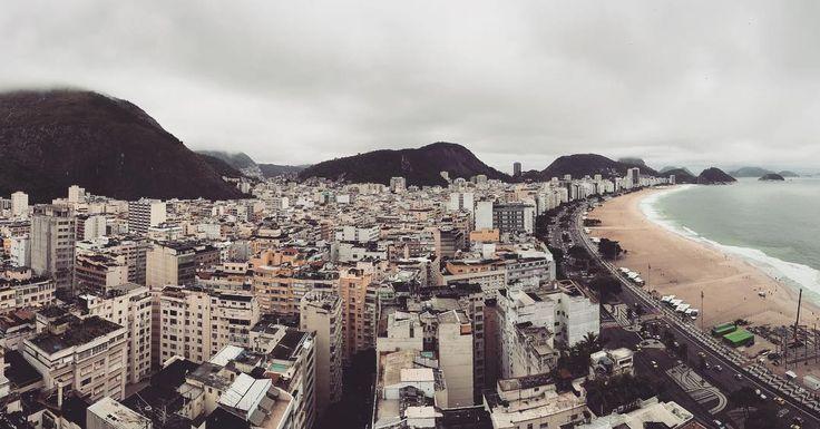 #RiodeJaneiro!! Estas son las vistas desde nuestra habitación... Qué pasada  planta 28...