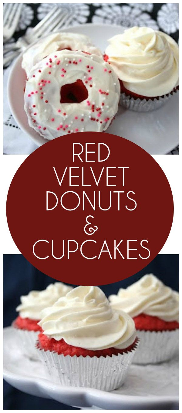 Red Velvet Donuts and Cupcakes (Low Carb and Gluten Free) | Recipe | Donuts, Cas and Stop thinking