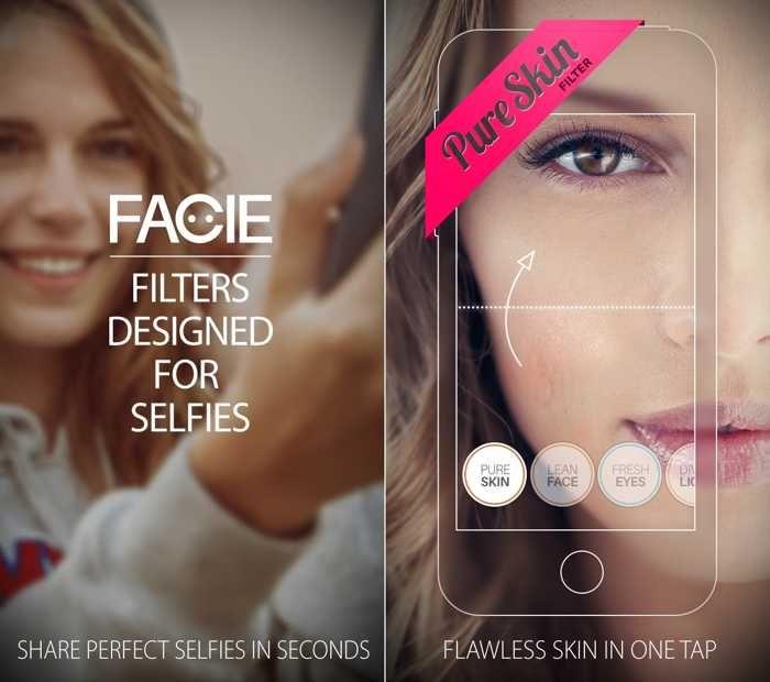 FACIE - una dintre cele mai cumparate aplicatii pentru selfie-uri din App Store este disponibila la REDUCERE | iDevice.ro