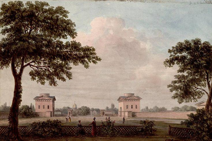 La barrière de l'Ecole militaire était magnifique mais les lieux servaient souvent pour des duels entre hommes.