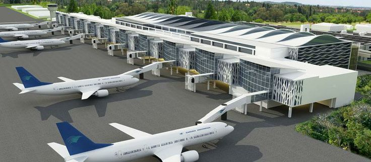 The new design Sepinggan Balikpapan Airport