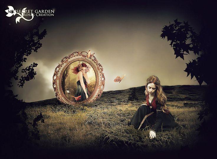 My Secret Garden 02 by dreamswoman.deviantart.com on @deviantART