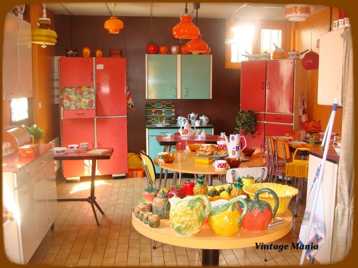 The 70 000 Dream Kitchen Makeover: 1000+ Images About Decor In The 1970s On Pinterest