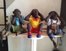 Three Monkeys Statue