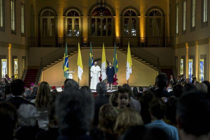Fotos: el Papa en Brasil http://www.diariopopular.com.ar/c163736