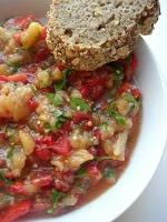 Thracian Roasted Eggplant Salad (Tunçilik) T - V