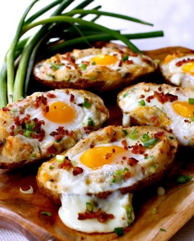 рецепт запеченного картофеля с яйцом – 02